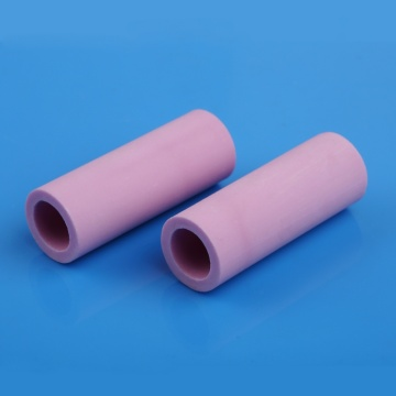 Pink insluating alumina ceramic tube