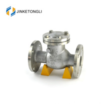 "JKTLPC001 flanged backflow swing stainless steel 2"" check valve"
