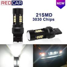 2Pcs T20 Led 7440 7443 SRCK Bulb W21W W21/5W Led T25 3156 3157 P27/7W 21 SMD 3030 Auto Reverse Backup DRL Car Turn Signal Light