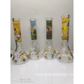 Beaker Bongs with Vortexs and Cartoon