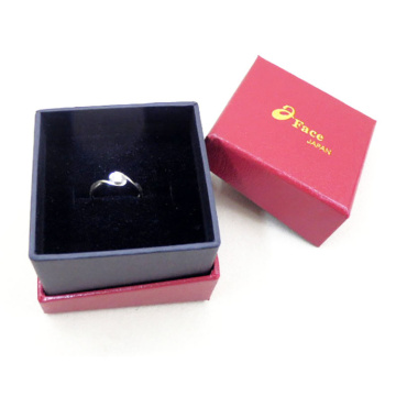 Paper Cover Ring Packing Cardboard Jewelry Box