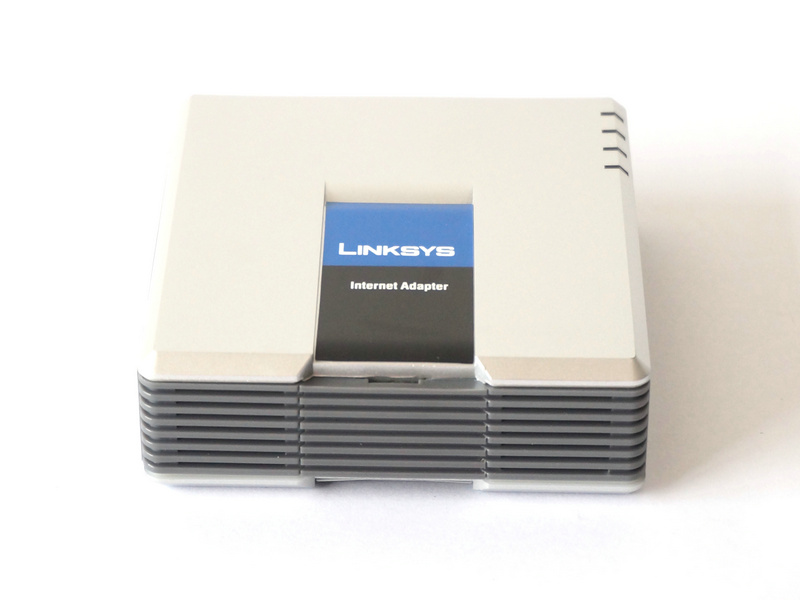 Unlocked Linksys PAP2-NA PAP2T PAP2T-Na ATA phone adapter SIP VOIP Phone Adapter , 2 FXS phone