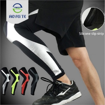 Knee support wearable compression sleeve pads adults