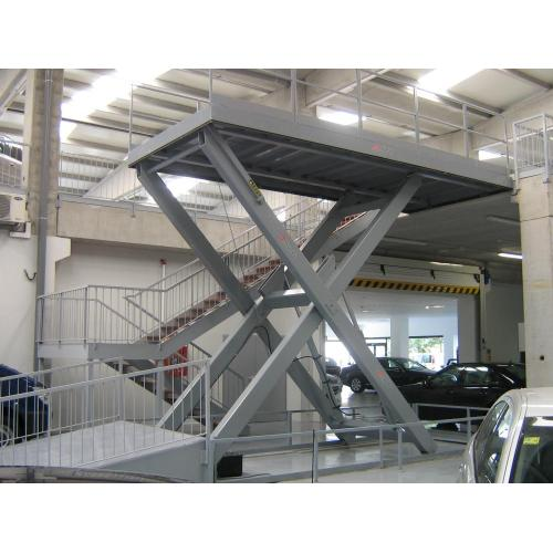 Hydraulic jack car lift