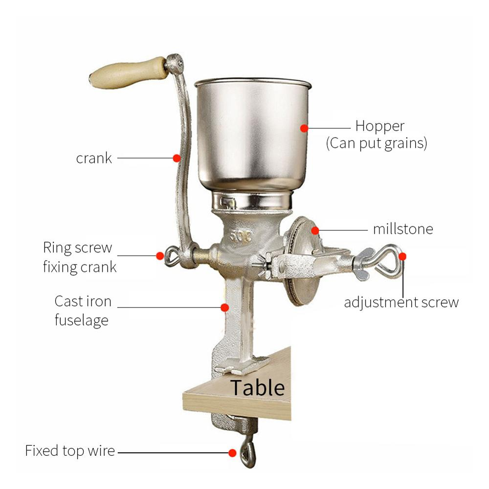 2019 Newest Stainless 2-roller Barley Malt Mill Grain Grinder Crusher For Homebrew Wholesale & Dropshipping