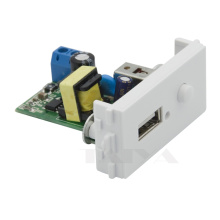 220V USB charge connector wall plate