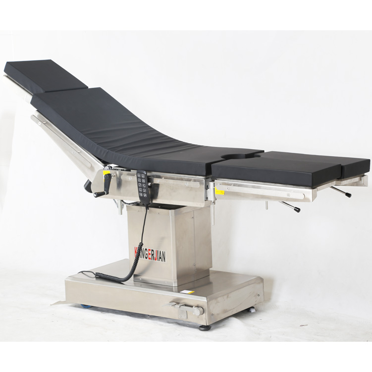 Multifunctional electric operating table