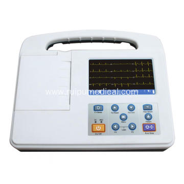 Portable Digital 1 Channel ECG Machine Electrocardiograph