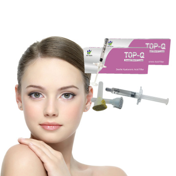 Cross Linked Hyaluronic Acid Gel TOP-Q 1ml Dermal Filler for Lip and Face