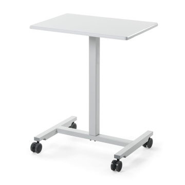 Pneumatic Manual Study Height Adjustable Standing Desk