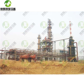 Purification Regeneration Treatment Of Used Engine Oil