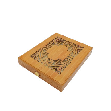 Factory custom make engraving wooden box