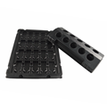 electronic packaging black blister tray for module