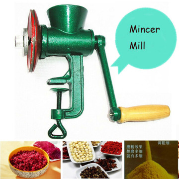 New Household Chili Soybean Grain Rice Mill Wheat Corn Flour Hand Crank Oats Flour Mill Pulverizer Mincer