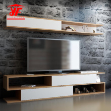 Amazon Popular Wooden TV Stand Furniture Design