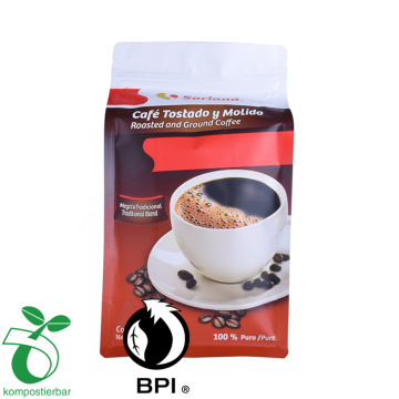 Mattopp/PET customized materials coffee bag with competitive price