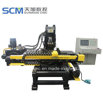 CNC Punching and Marking Machine for Steel Plates