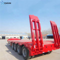 4 Axles Heavy Duty 100T LowBed Trailer