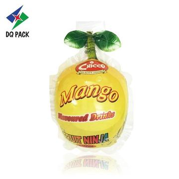 Fruit Shape Injection Printing Plastic Juice Pouch
