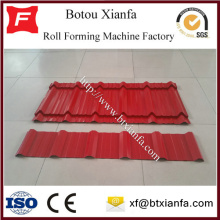 Metal Roof Double Deck Tile Roof Making Machine
