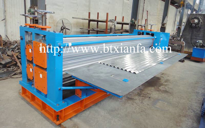 wave rolling forming machine