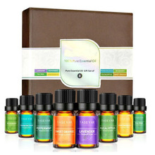 Essential Oil Set 8x10ml Therapeutic Grade 100% Pure