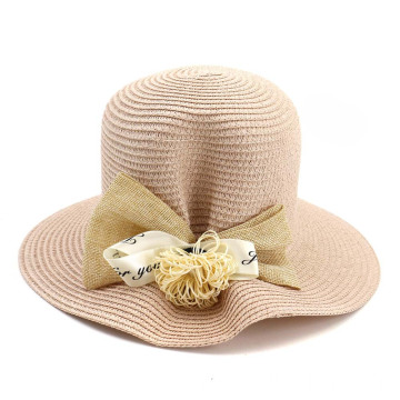 Deep plaited cap articles summer straw bucket hat