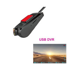 USB Car DVR For Android Radio dash Camera USB DVR Camera Recorder G-sensor Night Vision TF Card Optional