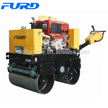 800kg Vibratory Walk Behind Double Drum Roller Road (FYL-800CS)