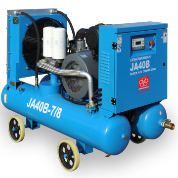 HWH JA40B 45kw portable screw air compressor