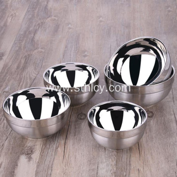Household 304 Stainless Steel Bowl