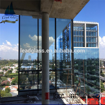 Toughened Low-E Insulated Window Glass Sheet For Wall