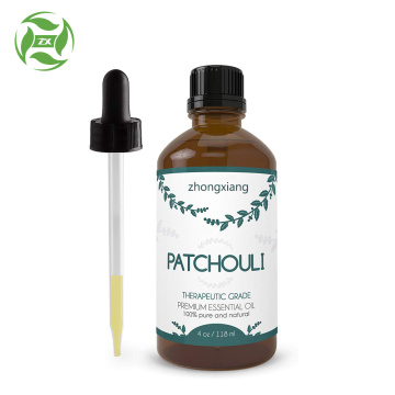 Organic Patchouli Essential Oil For Aromatherapy Massage Spa
