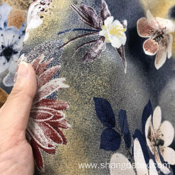 30S Rayon Discharge Print And Semi-Digital Print Fabric