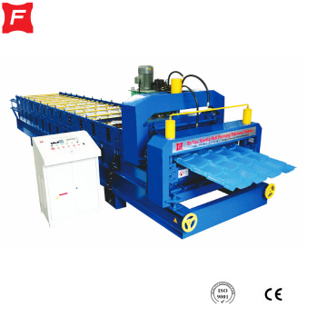 Aluminum Roof Double Deck Making Machine