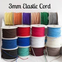 Wholesale nylon colorful elastic cord elastic rope