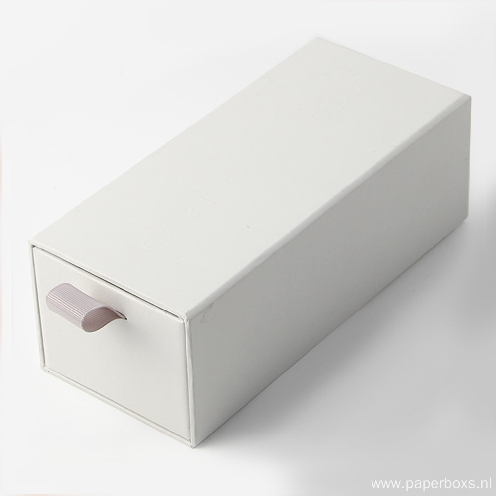 sliding paper packaging cardboard gift boxes