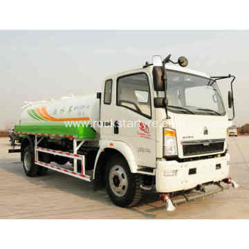 80000L Light Duty Water Tanker Truck