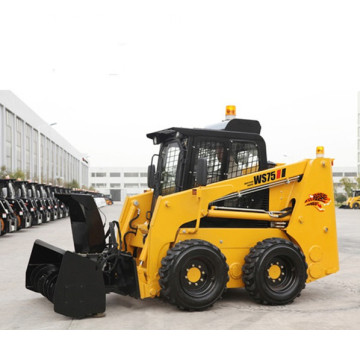 Easy operating front loader tractor