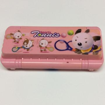 plastic children functional auto-opening pencil box