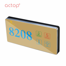 magnetic  stainless steel door kick plate