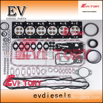 excavator S6D108 engine gasket bearing piston ring liner