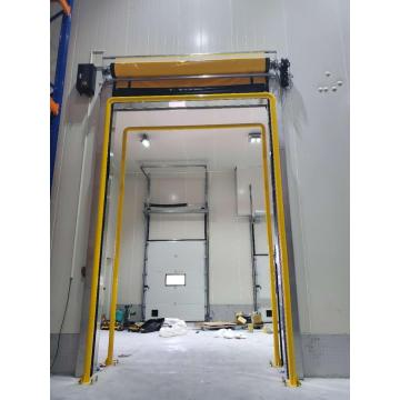Self-repair PVC high speed door