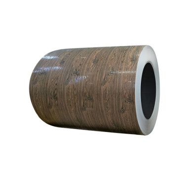 3D wood effect color coated aluminium