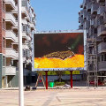 Outdoor P10 LED display modules with certificates