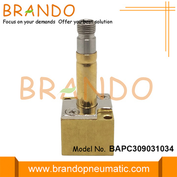 8.8mm OD Brass Tube Flange Seat Solenoid Stem