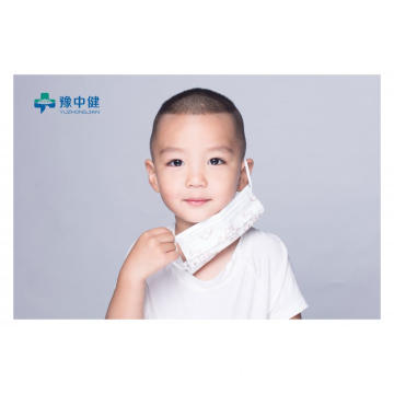 Earloop Design Disposable Medical Kids Face Mask