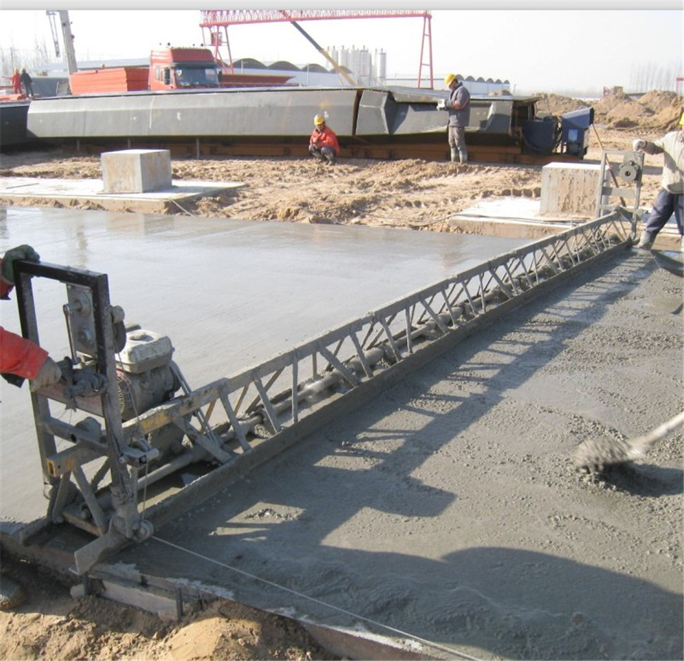 4m-16m Adjustable Vibratory Concrete Truss Screed