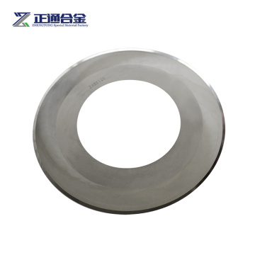 tungsten carbide slitter blade for corrugatted industry