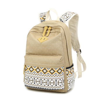 Canvas School  Bag Students Backpack For Teens